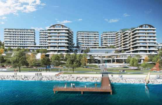 3+1 and 4+1 duplex apartments for sale in istanbul, buyukcekmece