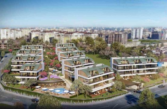 4+1 and 5+1 duplex apartments for sale in istanbul, buyukcekmece