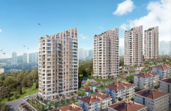 1+1 Apartment For Sale in istanbul asian side maltepe