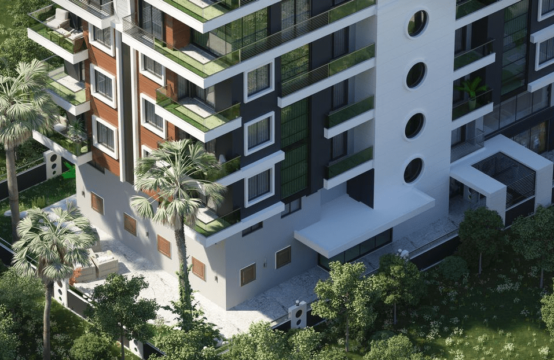 1+1 Apartments in ALANYA by the sea