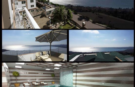 3,5+1 APARTMENTS IN BUYUKCEKMECE WITH A GREAT SEA VIEW